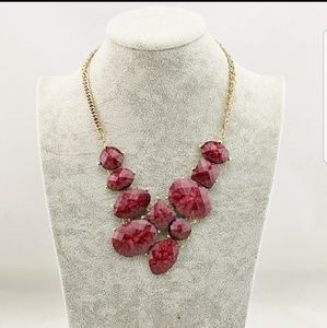 Red Rock Candy Necklace